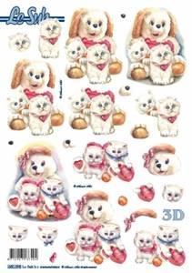 Bilde av 3D ark - utstanset - Hunder