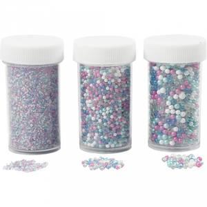 Bilde av Mini glasskuler,ass. farger,